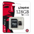 MicroSD 128Gb  Kingston Class10 UHS-I SDCX10/128GB