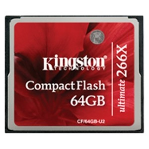 CF Kingston 64GB 266x CF/64GB-U2