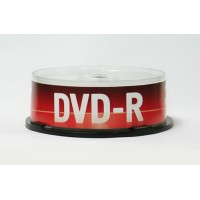 Диск DVD-R 4.7 GB 16x (Data Standard) CB-25