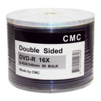 Диск DVD-R 9.4 GB 16х (Double Sided) (CMC) SP-50