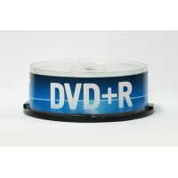 Диск DVD+R 4.7 GB 16x (Data Standard) CB-25