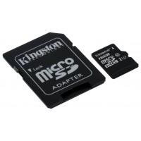 MicroSD  16GB  Kingston Class 10 UHS-I SDC10G2/16GB