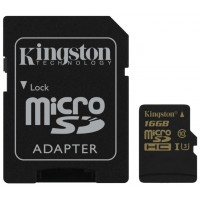 MicroSD  16GB  Kingston Class 10 UHS-I U3 Gold Series SDCG/16GB