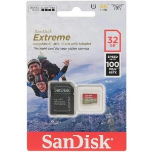 SanDisk Extreme microSDHC Class 10 UHS Class 3 V30 A1 100MB/s 32GB