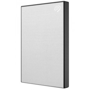 HDD  Seagate  2 TB  Backup Plus Slim серебро (STHN2000401)