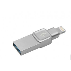 Флеш-накопитель USB  3.1  32GB  Kingston  Bolt Duo  (USB 3.1/Lightning)