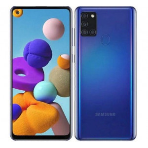 Смартфон Samsung Galaxy A21s 3/32GB синий